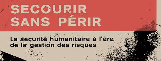 C_001 La sécurité des humanitaires en intervention  Cover Image